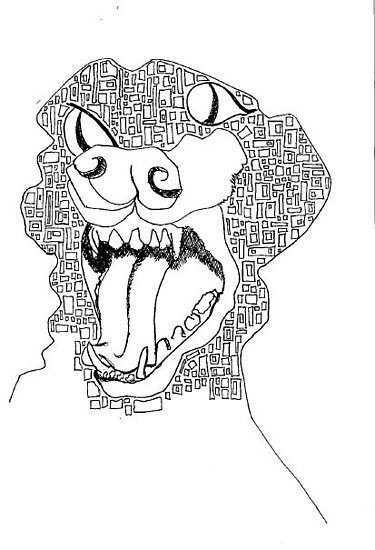 Cube Dog by unjj
