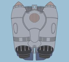 Rocket Jet Pack - Rocketeer One Piece - Short Sleeve