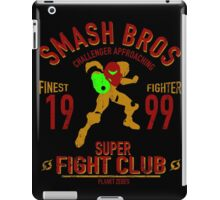 Planet Zebes Fighter iPad Case/Skin