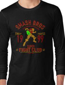 Planet Zebes Fighter Long Sleeve T-Shirt