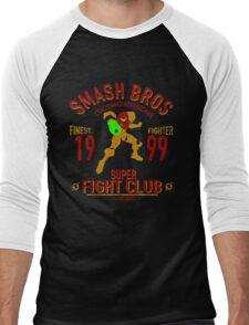 Planet Zebes Fighter Men's Baseball ¾ T-Shirt