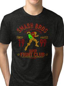 Planet Zebes Fighter Tri-blend T-Shirt