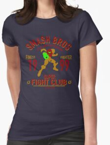Planet Zebes Fighter Womens Fitted T-Shirt