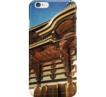 Great Buddha Hall in Todai-ji Nara Japan iPhone Case/Skin