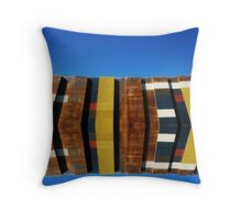 The Eastern Wall Throw Pillow
