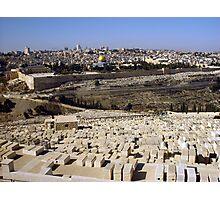 Jerusalem old city Photographic Print