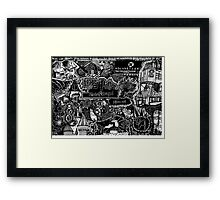 The Great Wizarding World of Harry Potter Framed Print