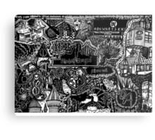 The Great Wizarding World of Harry Potter Metal Print