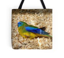 Humans Are Not The Only Ones To Sunbathe - Scarlet-Chested Parrot - NZ Tote Bag