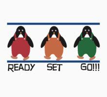 penguin races T-Shirt