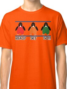 penguin races Classic T-Shirt