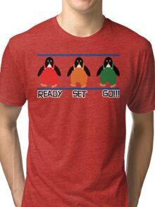 penguin races Tri-blend T-Shirt