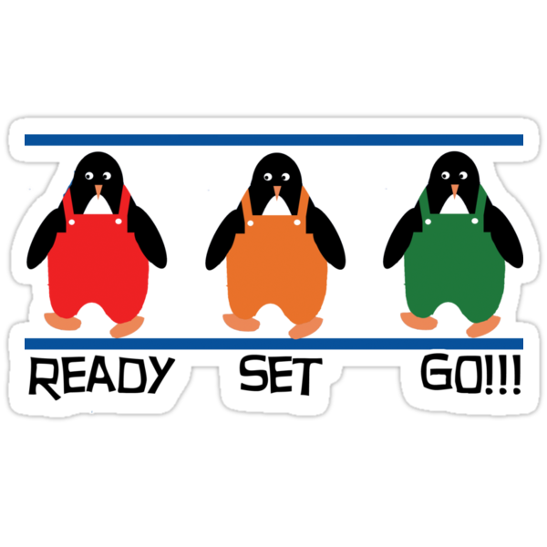 penguin races by picketty