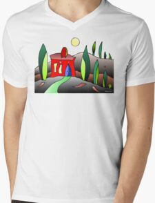 A Night In Tuscany Mens V-Neck T-Shirt