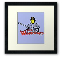 BASEBALL FURIES Framed Print