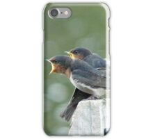 Me..ME...MEEE.... First!!! - Welcome Swallows - NZ iPhone Case/Skin
