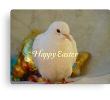 Easter Peace... - Happy Easter Dove - NZ Canvas Print