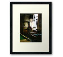 PUB MUSIC  Framed Print