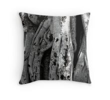 Curtain Fig Tree Formation Detail Throw Pillow
