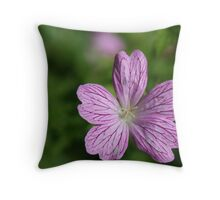 Donegal Flower Throw Pillow