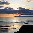 Sunset at Bundoran by Donal O Faogain