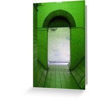 Green Room Greeting Card