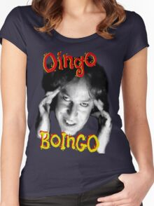 "Oingo Boingo: ""Insanity"" Women's Fitted Scoop T-Shirt"