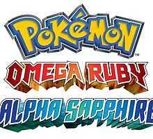 Omega Ruby Alpha Sapphire T shirt and Merch  by PokemonSeita