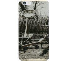 An Old Hay Rake iPhone Case/Skin