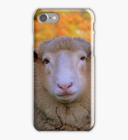 I Have My Winter Coat All Sorted... - Sheep - NZ iPhone Case/Skin