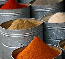 Moroccan Spices by Scott Harding