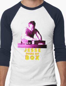 Jesse Rocks My Box! Men's Baseball ¾ T-Shirt