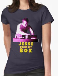 Jesse Rocks My Box! Womens Fitted T-Shirt