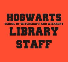Hogwarts Witchcraft and Wizardry Library Staff by Harry James Grout