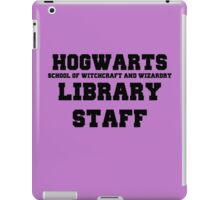 Hogwarts Witchcraft and Wizardry Library Staff iPad Case/Skin