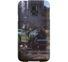 Flying Scotsman & 3801 @ Parramatta 1989 Samsung Galaxy Case/Skin