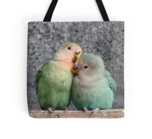 Excuse Me...This Is A Private Moment - Love Birds - NZ Tote Bag