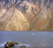 Scree slopes, Wast Water by John Kiely