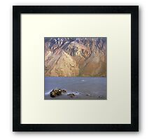 Scree slopes, Wast Water Framed Print