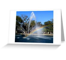 Promise Fountain Greeting Card