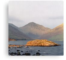 Wast Water, Late Sun Canvas Print