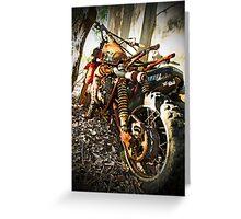 Dirt Bike Greeting Card