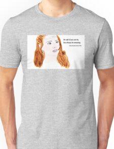Clara Oswald and Robin Hood Unisex T-Shirt