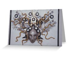 Automatic Medusa Greeting Card