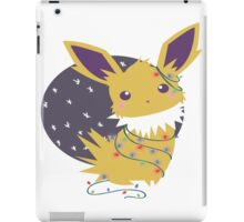 Jolteon Christmas T and Merch  iPad Case/Skin