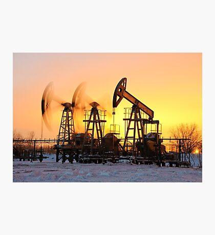 oil pumps  Photographic Print