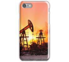 Oil pumps iPhone Case/Skin