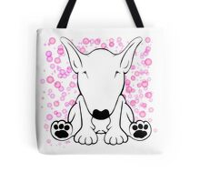 English Bull Terrier Forward Sit Tote Bag