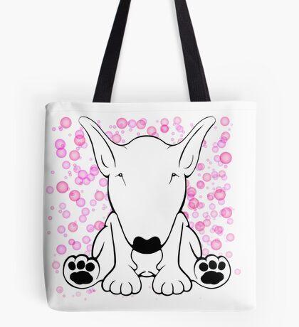 English Bull Terrier Forward Sit Tote Bag