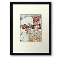 Narrow Gauge Railway in the Harz Mountains Framed Print